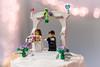 Lego Wedding Cake Topper (janedsh) Tags: sharpfamily horner cake bride groom weddingcake lego people morgan holman photography wedding topper photo by jane holmanphotoscom ed holmanphotography photobyjane
