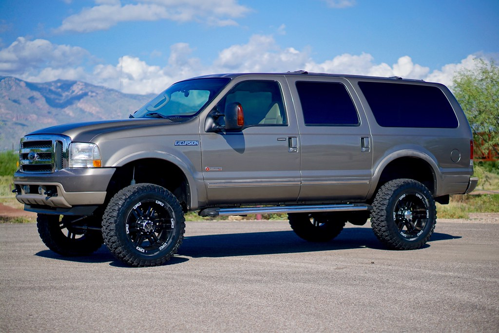 2004 ford excursion bulletproof 4x4 diesel suv for sale. Black Bedroom Furniture Sets. Home Design Ideas