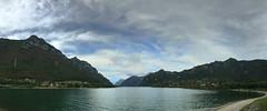(Paolo Cozzarizza) Tags: italia lombardia brescia idro acqua lago lungolago panorama cielo alberi