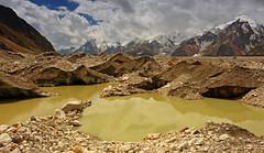 Marpogoro: Pea soup (Shahid Durrani) Tags: karakoram karakorams central national park baltistan pakistan biafo glacier