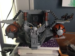 The Grey Lady (Wmallenpeterson) Tags: lego steampunk postapocalyptic airships dieselpunk