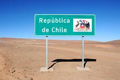 Chilean / Bolivian border at Hito Cajn / Chile (anji) Tags: chile southamerica americasur latinamerica northernchile sanpedrodeatacama atacamadesert