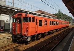 DSC03585 (Alexander Morley) Tags: japanese railway society japan trains jr west shinji station sanin main line