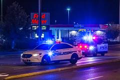 Mill Creek Police Department K-9 Unit & Everett Police Department (andrewkim101) Tags: snohomish county wa washington state everett mill creek police department ford interceptor sedan utility suv