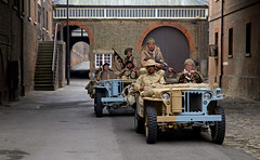 'Patrol' (andrew_@oxford) Tags: chatham historic dockyard salute 1940s wartime ww2 reenactors vintage lrdg long range desert group