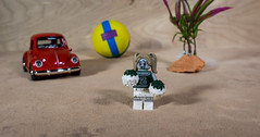 Zombie Cheerleader (Busted.Knuckles) Tags: home toys lego miniature zombie cheerleader vw pentaxk3 lightroom