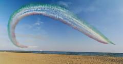 Air parade (Riccardo Palazzani - Italy) Tags: jesolo air show lido frecce tricolori planes jet helicopter italy sea exibition exhibition
