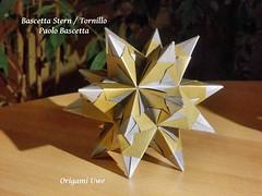 Bascetta Stern (UR Fleurogami) Tags: star origami estrela modular stern paolobascetta bascettastern