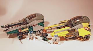 Anakin's Jedi Interceptors