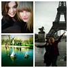 Taylor Swift posted a photo of herself with Hailee Steinfeld in Paris on Twitter with the caption 'Had the best day off in Paris, meandering around, laughing hysterically with @haileesteinfeld.'