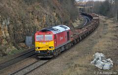 "60059 ""Swinden Dalesman"", Kilnhurst 2 February 2013 (jrs1967_1) Tags: dock diesel 5 brush db class type locomotive tug 60 tees schenker kilnhurst swinden dalesman 60059 aldwarke 6j72"