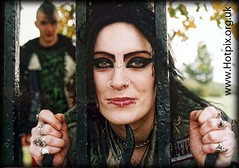 Caged Animals (Hotpix [LRPS] Hanx for 1.5M Views) Tags: tattoo hair nose spiky punk chad britain great smith piercing tony rings stockport spike nosering punks rockers shez chadwick brinnington brinnie hotpixuk chadandshez