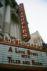 A Love Story with Tyler and Kerri (goodbyebyesunday) Tags: california film la superia contax 400 fujifilm contaxt2 fujisuperia400