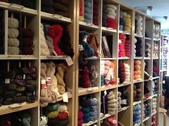 Iris Fine Yarns in Appleton, Wi (kindred threads) Tags: iris appleton yarnshop