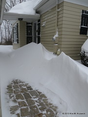 Some serious drifts... (kmkruswick) Tags: snowstormnemo