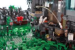 Chronicles: Loose Ends (Andreas) Tags: lego scene darkwater thepurge legoscenes legovietnam thepurgeusa legoswamp legovietnamboat thepurgegrand