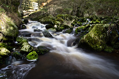 Posforth Gill (Phil_Mercer) Tags: bridge water flow rocks yorkshire valley gill posforth