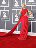 55th Annual GRAMMY Awards held at Staples Center - Arrivals Featuring: Kaya Jones