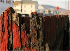 The Red Fence (2bmolar) Tags: fence day46 day46365 ourdailychallenge fencedfriday 3652013 365the2013edition 15feb13
