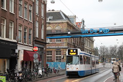 Amsterdam (Rick van Hemert) Tags: street city holland netherlands amsterdam constructionarea subway oudzuid europe view metro capital nederland tram depijp stad noordzuidlijn straat ferdinandbolstraat lijn16 rickll rvh 2013 rickvanhemert 16022013