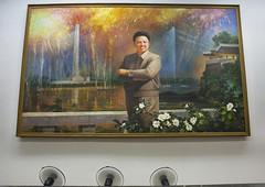 Kim Jong Il Portrait, Pyongyang, North Korea (Eric Lafforgue) Tags: portrait people horizontal war asia day symbol politics memories kitsch nopeople korea billboard communism kimjongil national photograph hanging asie dictator patriotism ideas coree leadership northkorea pictureframe pyongyang eastasia dprk coreadelnorte capitalcities juche colorimage nordkorea img0036    malelikeness coreadelnord  humanrepresentation  insidenorthkorea  rpdc  coreiadonorte  dicature