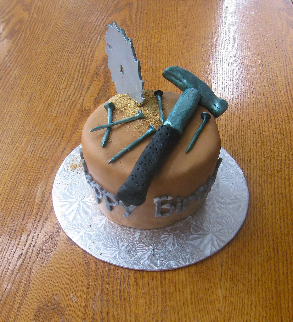 Cake Fondant Nails: The World's Best Photos Of Cake And Hammer