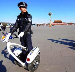 02 (Beijing Patrol) Tags: white hat leather belt uniform board beijing police cap badge glove patch shoulder visor peaked epaulet