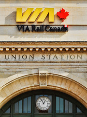907-03 (Joe-Lynn Design) Tags: railroad canada station train winnipeg railway manitoba via unionstation
