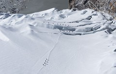 Icy white (EverExplore) Tags: nepal island peak glacier himalaya crevasses