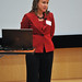 Linda Butler, V.P. of medical affairs and chief medical officer at Rex Healthcare, speaks during the event.