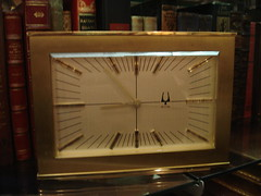 """BULOVA ACCUTRON DESK CLOCK. • <a style=""""font-size:0.8em;"""" href=""""http://www.flickr.com/photos/51721355@N02/8512616455/"""" target=""""_blank"""">View on Flickr</a>"""