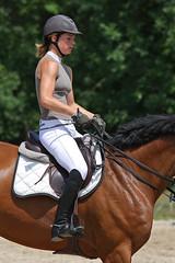 Jumping à Miribel (Maillekeule) Tags: cheval jumping cavalier miribel obstacle saut ain jonage