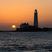 "St Mary's Lighthouse at Dawn • <a style=""font-size:0.8em;"" href=""https://www.flickr.com/photos/21540187@N07/8524246690/"" target=""_blank"">View on Flickr</a>"