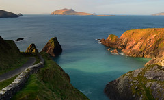 Dunquin Pier (Barbara Walsh Photography) Tags: trip ireland seascape mountains water holidays tour kerry dinglepeninsula blasketislands dunquinpier nikind5100