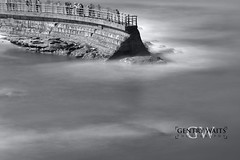 Untitled (2013-02-16 21:45:26) (Gentry Waits Photography) Tags: ocean california longexposure sea seascape art beach water landscape blackwhite sandiego tripod lajolla professional filter carbonfiber manfrotto canon70200mmf28l canonshooters bwnd 70200f28lisii canon1dx hydrostaticballhead ppamember