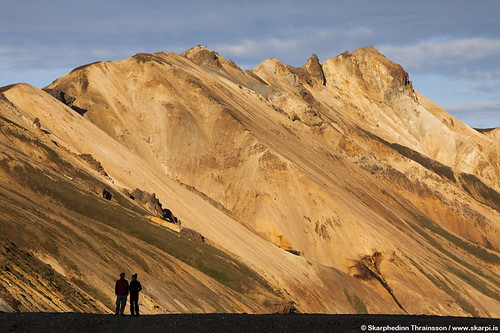 Mountain view in Landmannalaugar, highlands of Iceland
