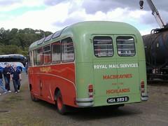 MacBraynes 210 Lathalmond (Guy Arab UF) Tags: david bus buses bedford scottish 1966 highland preserved midland 210 macbrayne lathalmond omnibuses duple vas1 cd93 hga983d