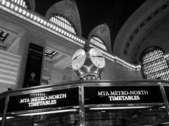 "Grand Central Clock • <a style=""font-size:0.8em;"" href=""http://www.flickr.com/photos/59137086@N08/8544809287/"" target=""_blank"">View on Flickr</a>"