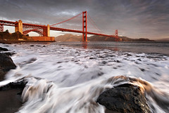 The Golden Gate Bridge  **EXPLORE**  Birthday Wishes (Andrew Louie Photography) Tags: life california birthday camera bridge winter red orange snow seascape simon love beach coffee breakfast sunrise canon french point landscape photography golden muffins gate san francisco waves dynamic fort expression anniversary vibrant toast joy may jazz andrew romance celebration explore passion jelly louie express carly drama 27 today epic grape whimsical