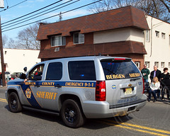 Bergen County Sheriff Patrol Vehicle, 2013 Bergen County St. Patrick's Day Parade, Bergenfield, New Jersey (jag9889) Tags: ireland people irish usa holiday green heritage car feast america religious newjersey faith nj culture police patriotic historic parade celebration event crime national vehicle sheriff tradition mass stpatrick shamrocks department finest unit stpaddysday investigation irishamerican stpatricksdayparade stpaddy saintpatrick washingtonavenue bergenfield bergencounty 2013 saintpatricksdayparade 17march stpatrickparade jag9889 3102013 2013bergencountystpatricksdayparade