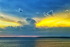 Remain in light (Kansas Poetry (Patrick)) Tags: sunset sunbeams clintonlake patrickemerson patricknancyhaveagreatday