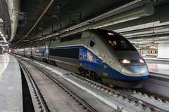 TGV en Barcelona Sants