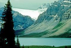 Bow Lake, Banff National Park, Alberta, Canada - NK056 (photos by Bob V) Tags: mountains rockies glacier banff rockymountains mountainlake banffnationalpark bowlake canadianrockies banffalberta banffpark banffalbertacanada cans2s