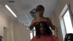 Long to Bob Haircut Makeover 6 (YouTube Link in Description) Tags: haircut hair cut bob buzzed nape