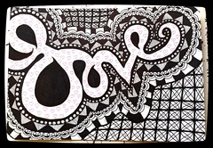Love #zentangle #doodle (Persephone-Pomegranate) Tags: doodle zentangle streamzoo