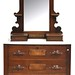 125. Victorian Cottage Style Dresser with Mirror