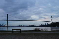 082/365 Lions Gate Bridge at 7 a.m. (ruthlesscrab) Tags: vancouver morninglight burrardinlet lionsgate ambleside wah day82 project365 werehere 365project day82365 3652013 hereios 365the2013edition 23mar13
