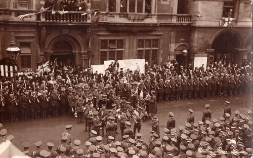 Trowbridge Armistice Day 1918