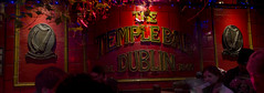 Bloody Temple Bar (Diego Almazn) Tags: dublin pub panoramic templebar sanpatricksday