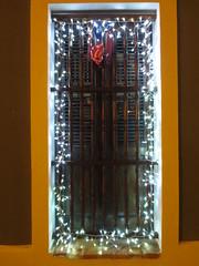 Window in Old San Juan, Puerto Rico decorated for Navidad with white Christmas lights (RYANISLAND) Tags: old history beach port puerto island boat spain san ship juan state oldsanjuan puertorico rico sanjuan spanish espanol latin tropical historical tropic caribbean latino hispanic latina latinos isla commonwealth rican boricua puertorican statehood sanjuanpuertorico beahes boricuas latins caribbeanislands spanishpeople latinpeople oldsanjuanpuertorico caribbeanisland latinguy spanishguy spanishspeaking commonwealthofpuertorico puertoricohistory puertoricanhistory sanjuanpuertopico